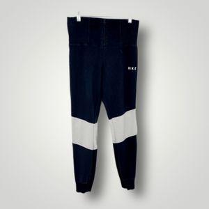 Nike Zip Front High Rise Jogger Pants
